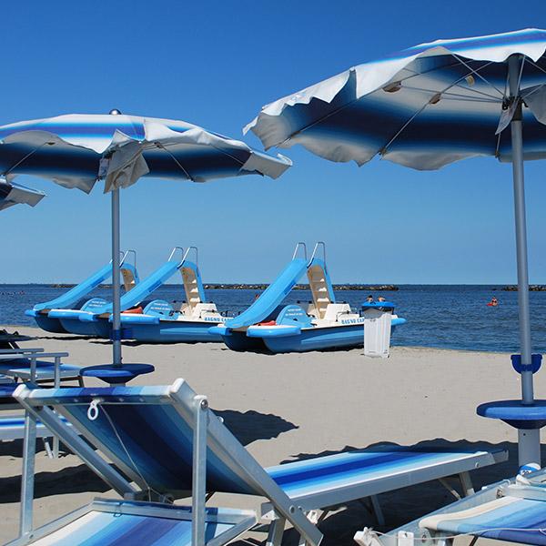 Hotel con spiaggia riservata Jesolo Lido